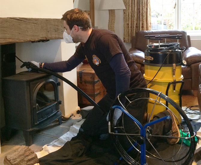 Versa Clean Chimney Amp Flue Sweep And Extraction Cleaning
